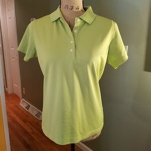 Ladies Nike Golf knit shirt 1/4 button DRI-FI
